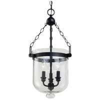 Sea Gull Lighting Westminster 3 Light Pendant in Autumn Bronze 65046-715