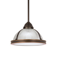 Sea Gull 65060EN3-715 Pratt Street 1 Light 11 inch Autumn Bronze Pendant Ceiling Light