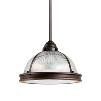 Sea Gull 65061EN3-715 Pratt Street 2 Light 13 inch Autumn Bronze Pendant Ceiling Light