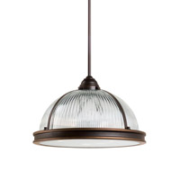 Sea Gull 65062EN3-715 Pratt Street 3 Light 16 inch Autumn Bronze Pendant Ceiling Light