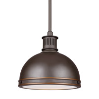 Pratt Street LED 10 inch Autumn Bronze Pendant Ceiling Light