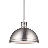 Pratt Street LED 13 inch Brushed Nickel Pendant Ceiling Light