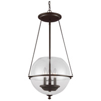 Sea Gull 6511903-715 Havenwood 3 Light 15 inch Autumn Bronze Pendant Ceiling Light