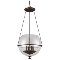 Sea Gull 6511904-715 Havenwood 4 Light 18 inch Autumn Bronze Pendant Ceiling Light