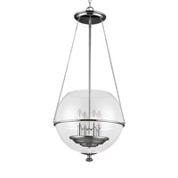 Sea Gull 6511904EN-05 Havenwood 4 Light 18 inch Chrome Pendant Ceiling Light