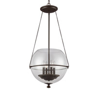 Havenwood 4 Light 18 inch Autumn Bronze Pendant Ceiling Light