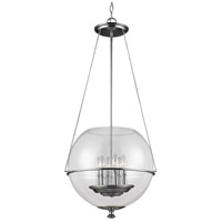 Havenwood 6 Light 21 inch Chrome Pendant Ceiling Light