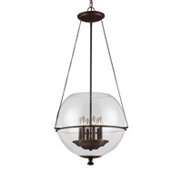 Sea Gull 6511906EN-715 Havenwood 6 Light 21 inch Autumn Bronze Pendant Ceiling Light