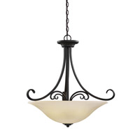Del Prato 4 Light 26 inch Chestnut Bronze Pendant Ceiling Light