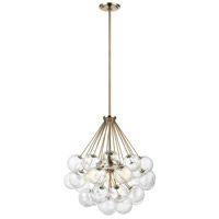 Sea Gull 6514303-848 Bronzeville 3 Light 22 inch Satin Bronze Pendant Ceiling Light