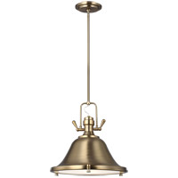 Sea Gull 6514401EN3-848 Stone Street 1 Light 13 inch Satin Bronze Pendant Ceiling Light