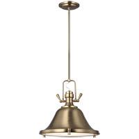 Sea Gull 6514401EN3-848 Stone Street 1 Light 13 inch Satin Bronze Pendant Ceiling Light