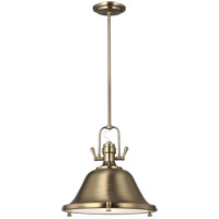 Sea Gull 6514402-848 Stone Street 2 Light 17 inch Satin Bronze Pendant Ceiling Light