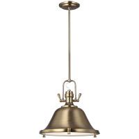 Sea Gull 6514402EN3-848 Stone Street 2 Light 17 inch Satin Bronze Pendant Ceiling Light