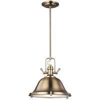 Sea Gull 6514403-848 Stone Street 3 Light 22 inch Satin Bronze Pendant Ceiling Light