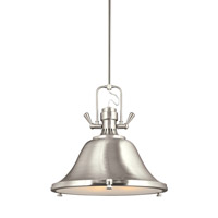 Stone Street 3 Light 22 inch Brushed Nickel Pendant Ceiling Light