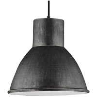 Sea Gull 6517401-846 Division Street 1 Light 15 inch Stardust Pendant Ceiling Light