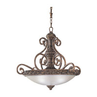 Sea Gull Lighting Highlands 3 Light Pendant in Regal Bronze 65252-758 photo thumbnail