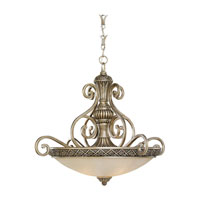 Sea Gull Lighting Highlands 3 Light Pendant in Palladium 65252-824