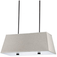 Dayna 4 Light 17 inch Burnt Sienna Pendant Ceiling Light in Standard