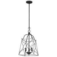 Sea Gull 6531503EN-808 Carra 3 Light 12 inch White Wash Pendant Ceiling Light
