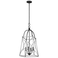 Sea Gull 6531504EN-808 Carra 4 Light 15 inch White Wash Pendant Ceiling Light