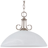 Sea Gull Lighting Lemont Fluorescent 1 Light Pendant in Antique Brushed Nickel 65316BLE-965
