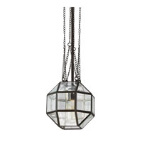 Sea Gull Lazlo 1 Light Pendant in Heirloom Bronze 6534401-782