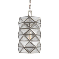 Harambee 1 Light 8 inch Antique Brushed Nickel Pendant Ceiling Light