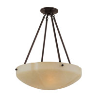 Sea Gull Lighting Century 3 Light Pendant in Heirloom Bronze 65474-782