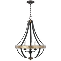 Sea Gull 6551103-792 Davlin 3 Light 18 inch Smith Steel Pendant Ceiling Light