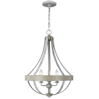 Sea Gull 6551103-818 Davlin 3 Light 18 inch French Washed Oak Pendant Ceiling Light