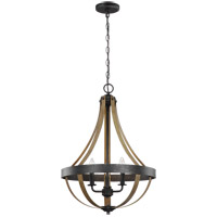 Sea Gull 6551103-846 Davlin 3 Light 18 inch Stardust Pendant Ceiling Light