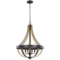 Sea Gull 6551104EN-846 Davlin 4 Light 22 inch Stardust Pendant Ceiling Light