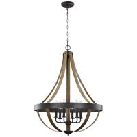 Sea Gull 6551106EN-846 Davlin 6 Light 26 inch Stardust Pendant Ceiling Light