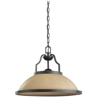 Sea Gull Lighting Roslyn 1 Light Pendant in Flemish Bronze 65520-845