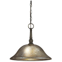 Sea Gull Blayne 1 Light Pendant in Platinum Oak 6570401-736
