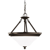 Sea Gull 66062-782 Sussex 3 Light 15 inch Heirloom Bronze Pendant Ceiling Light