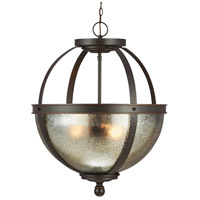 Sea Gull Sfera 3 Light Pendant in Autumn Bronze 6610403BLE-715