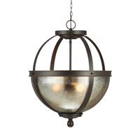 Sea Gull 6610403EN3-715 Sfera 3 Light 19 inch Autumn Bronze Pendant Ceiling Light