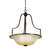 Trempealeau 4 Light 25 inch Roman Bronze Pendant Ceiling Light