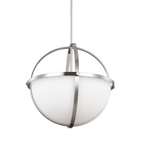 Alturas 3 Light 19 inch Brushed Nickel Pendant Ceiling Light in Fluorescent