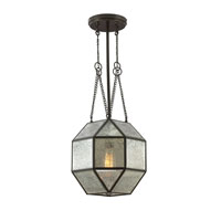 Sea Gull Lazlo 4 Light Hall/Foyer Pendant in Heirloom Bronze 6635404-782