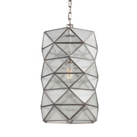 Harambee 1 Light 12 inch Antique Brushed Nickel Pendant Ceiling Light