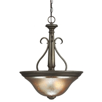 Sea Gull Blayne 3 Light Pendant in Platinum Oak 6670403-736