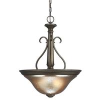 Sea Gull Blayne 3 Light Pendant in Platinum Oak 6670403BLE-736
