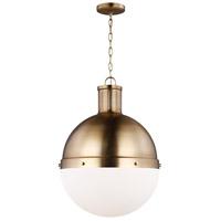 Sea Gull 6677101-848 Hanks 1 Light 16 inch Satin Bronze Pendant Ceiling Light