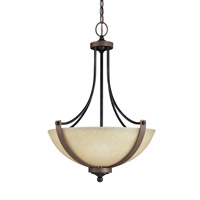 Sea Gull 6680403EN3-846 Corbeille 3 Light 19 inch Stardust Pendant Ceiling Light