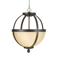 Sea Gull 6690403EN3-715 Sfera 3 Light 19 inch Autumn Bronze Pendant Ceiling Light