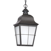 Sea Gull 69272-46 Chatham 1 Light 9 inch Oxidized Bronze Outdoor Pendant